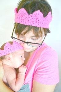 Raewyn Smith with baby