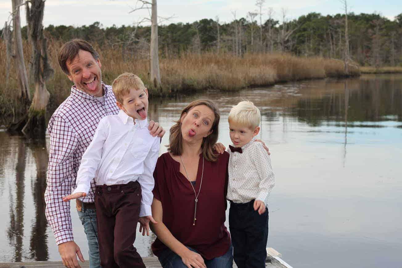 Allison B Carter Family Photo