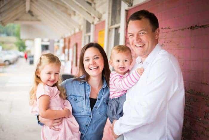 Tiffany Walker Family Photo