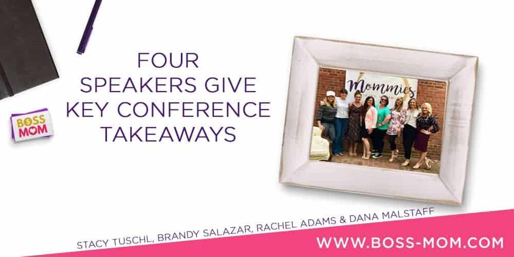 Episode 205: Four Speakers Give Key Conference Takeaways with Stacy Tuschl, Brandy Salazar, Rachel Adams & Dana Malstaff